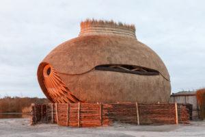 Olanda: Tij un osservatorio ecologico a forma di uovo