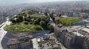 Turchia: lo stadio abbandonato viene trasformato in un parco urbano