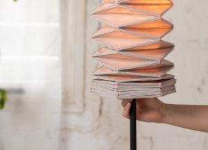 Design: Origami 3D a conduttività elettrica
