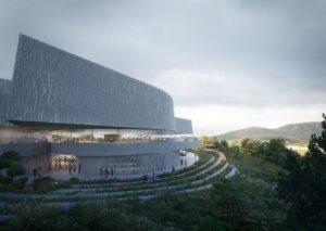 UNStudio ha presentato la sua proposta per il nuovo museo di arte contemporanea in Corea del Sud