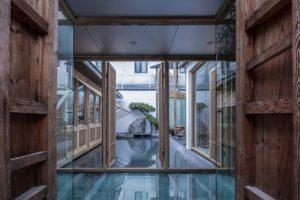 Pechino: la ristrutturazione di un cortile tra pittura e architettura