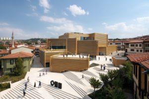Turchia: presentato il nuovo museo di arte contemporanea di Kengo Kuma  & Associates