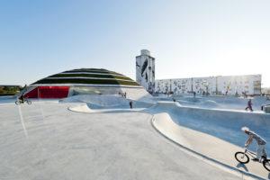 Danimarca: StreetDome una moderna arena sportiva e centro culturale a forma di igloo
