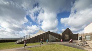Svezia: l'architettura dell'asilo si ispira alle antiche case dei pescatori