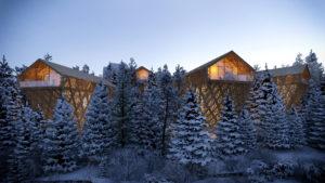 """Austria: """"Tree Suites"""" un resort di lusso che prende spunto dall'architettura vernacolare"""