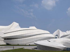 Cina: il nuovo polo museale firmato Zaha Hadid Architects