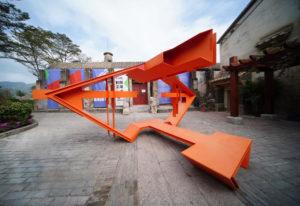 """Shenzhen: l'installazione """"Social Magnet"""" per la biennale dove passato, presente e futuro si fondono"""