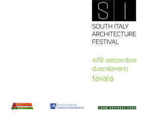 Il progetto Ri.genera a cura dell'arch. Carlo Gibiino sarà presentato il 17 Settembre al SI – South Italy Architecture Festival