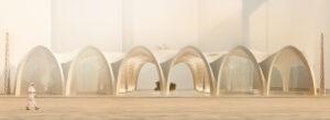 """Abu Dhabi: il progetto di una copertura sostenibile stampata in 3D premiato al """"Cool Abu Dhabi Challenge"""""""
